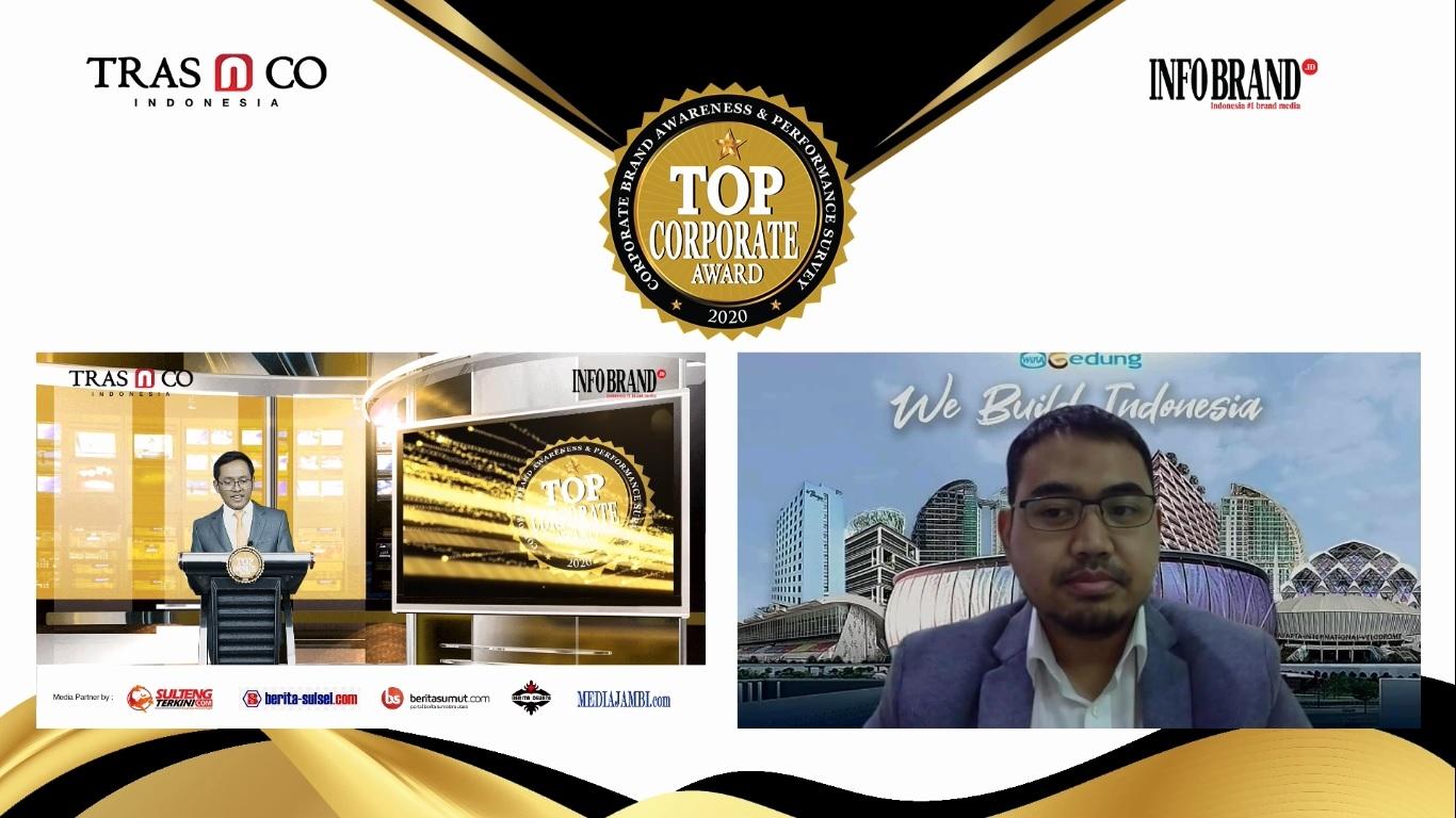Catatkan Laba Berjalan Rp96,7 Miliar di Semester 1 2020, WEGE Sabet Top Corporate Award