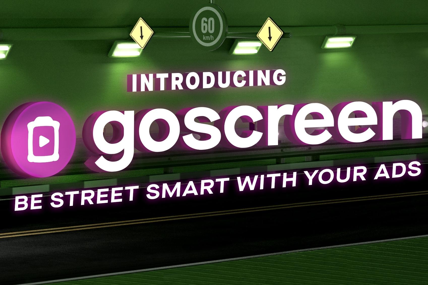 GoScreen, Media Luar Ruang Canggih dengan Teknologi Iklan Terprogram