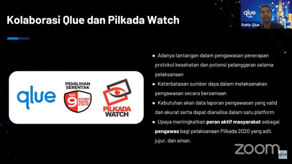 Pilkada Watch dan Qlue Berkolaborasi Jadi Medium Laporan Pelanggaran Pilkada