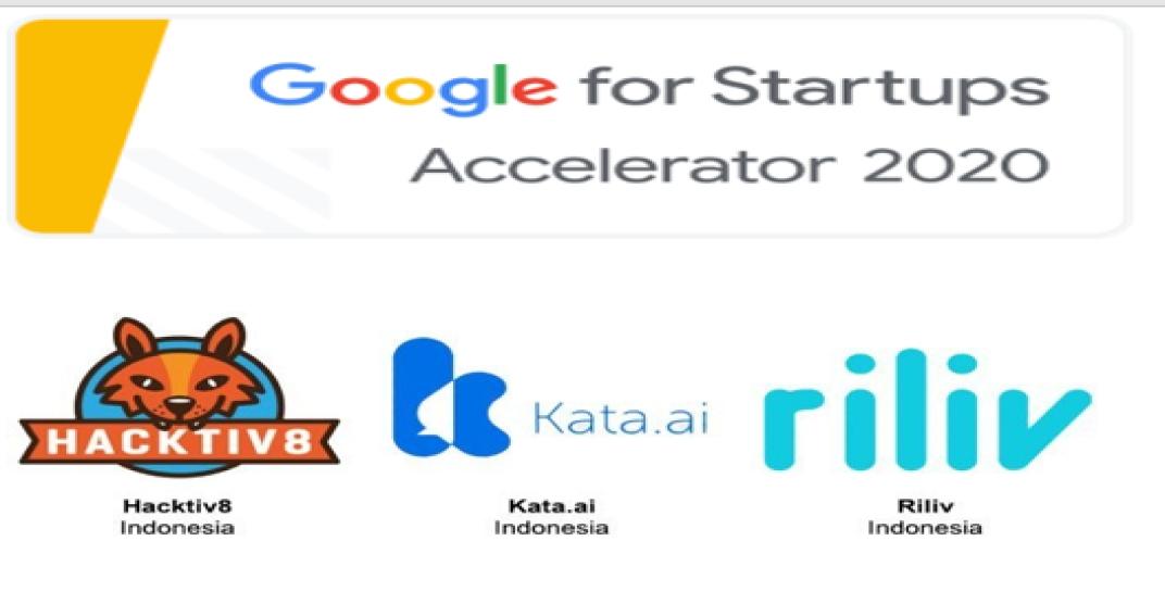 Google Umumkan 3 Startup Indonesia Lulus Google for Startups Accelerator 2020