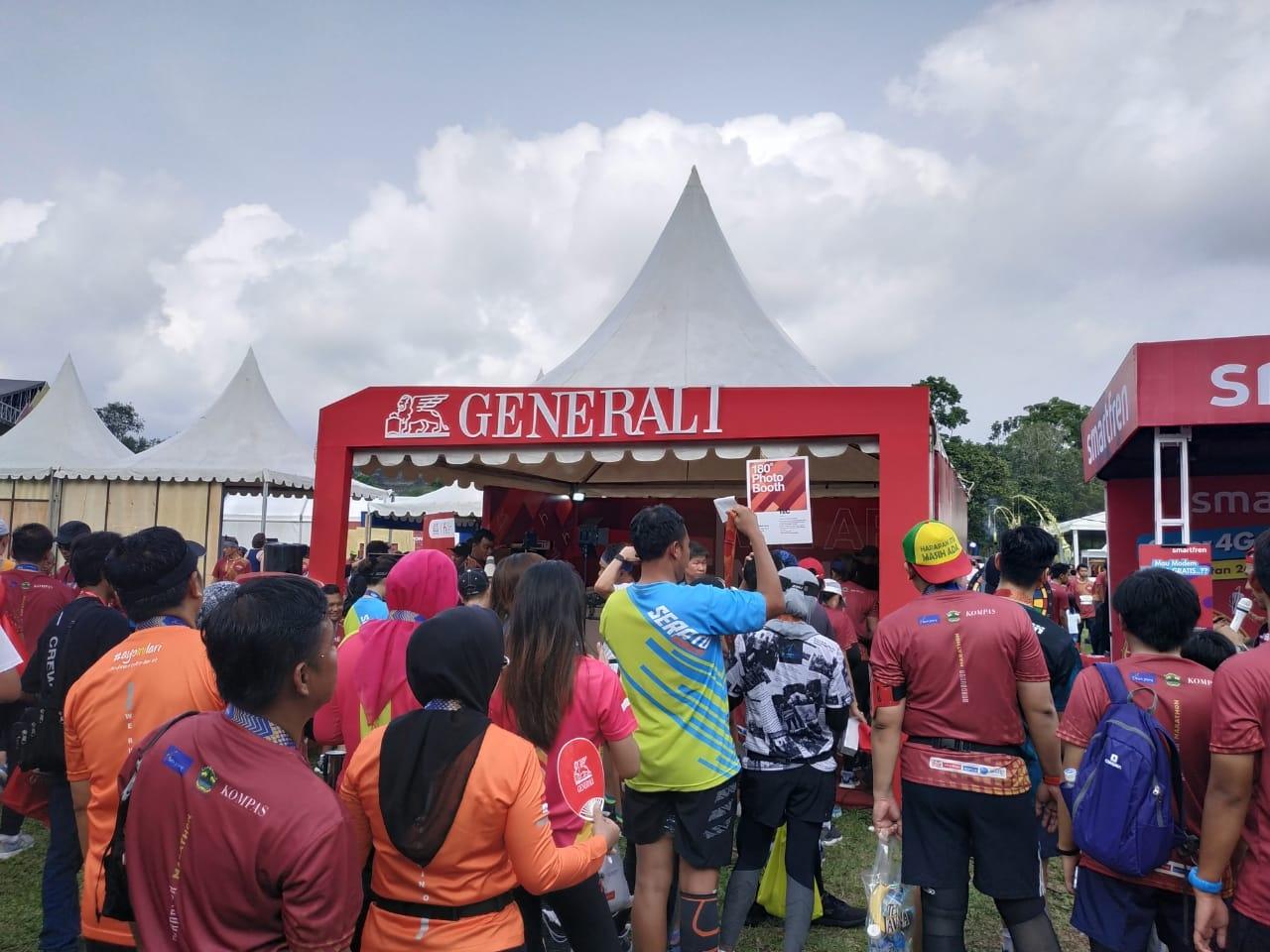 Dukung Borobudur Marathon 2020, Generali Promosikan Kesehatan Fisik dan Mental di Tengah Pandemi