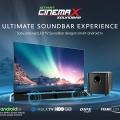 Polytron Smart Cinemax Soundbar, Satu-Satunya LED TV Soundbar Dengan Smart Operating System