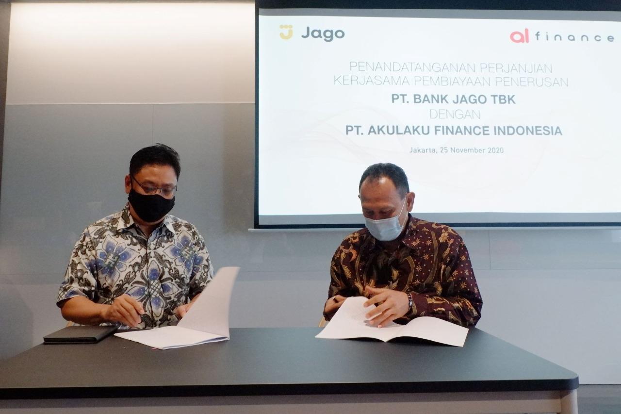 Akulaku Finance Gandeng Bank Jago Kolaborasi Pembiayaan Digital