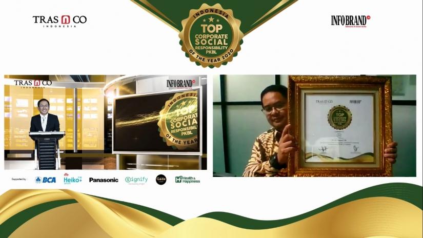 Libatkan UMKM dalam Kegiatan Perusahaan, PT PP Sabet Top CSR & PKBL of The Year 2020