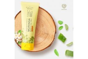 Pertama di Indonesia Inovasi Skincare Bahan Daun Kelor (Moringa) dari everShine Moringa Soothing Gel