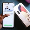 Galaxy A02s Terintegrasi dengan Samsung Health, Bantu Wujudkan Resolusi Kesehatan