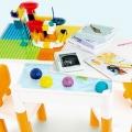 Fun Bricks Table, Meja Bermain dan Belajar Mendukung Montessori