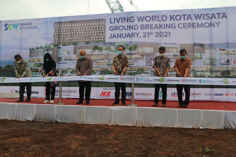 Sinar Mas Land Gandeng Kawan Lama Group Bangun Living World