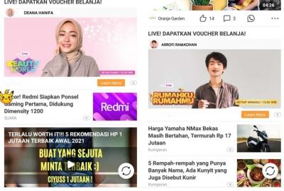 Trend E-Commerce Live Streaming dan Konten Rekomendasi Tumbuh Signifikan