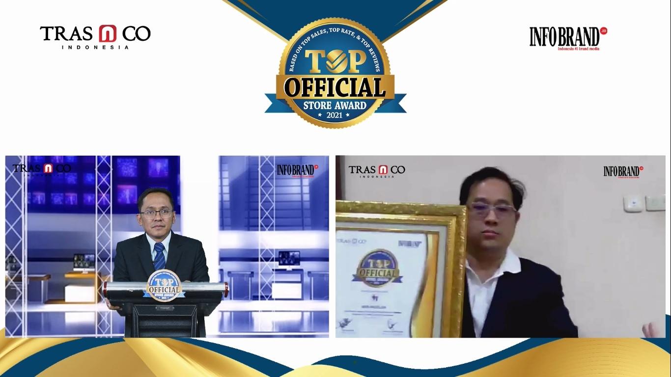 Produknya Direview 270 Ribu Lebih Pelanggan, Vaya Madelon Sabet Top Official Store Award 2021