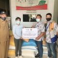 TBIG Salurkan Bantuan Sembako Masyarakat Terdampak Bencana di Sulbar