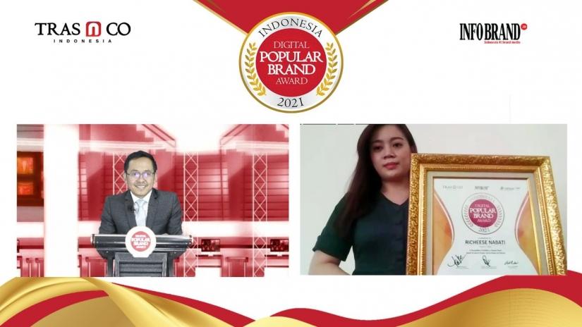 Eksis di Ranah Digital, Richeese Nabati jadi Favorit Masyarakat