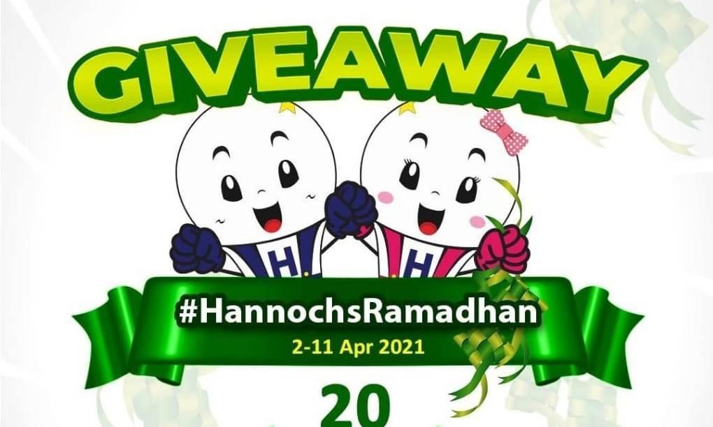 Sambut Bulan Suci Ramadhan Hannochs Bagi-Bagi Hadiah Puluhan Juta Rupiah