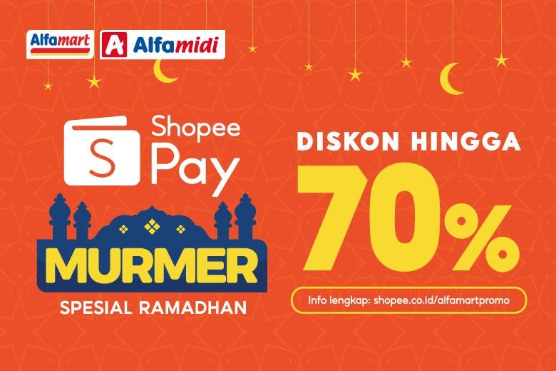 Bayar Pakai ShopeePay, Belanja di Alfamart dan Alfamidi Makin Murah di Bulan Ramadhan