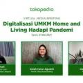 Produk Home Living Jadi Produk Paling Dicari di Tokopedia