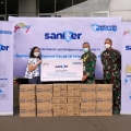 Godrej Indonesia Sumbang 30.000 Sanitizer ke Wisma Atlet Kemayoran