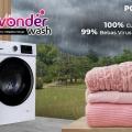 Polytron Hadirkan Wonderwash 2-in-1 Washer Dryer, Bisa Mencuci dengan Air Hangat
