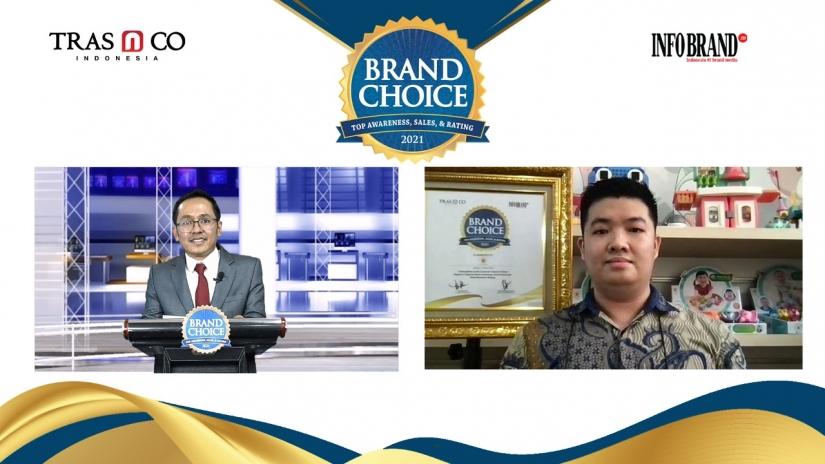 Jadi Teman Baik Untuk Si Kecil, IQ Angel Sabet Brand Choice Award 2021