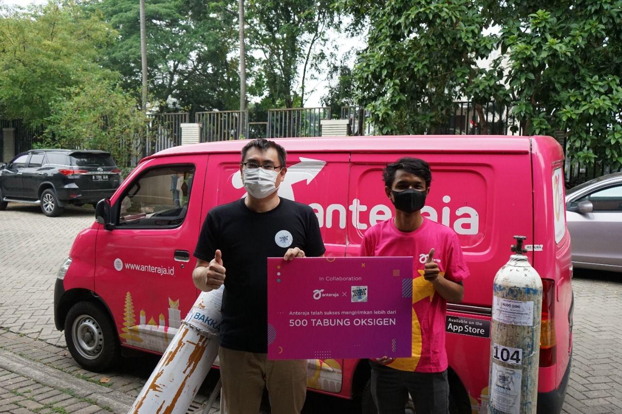 Anteraja Bantu Sebarkan Tabung Oksigen untuk Penanganan COVID-19 di Indonesia