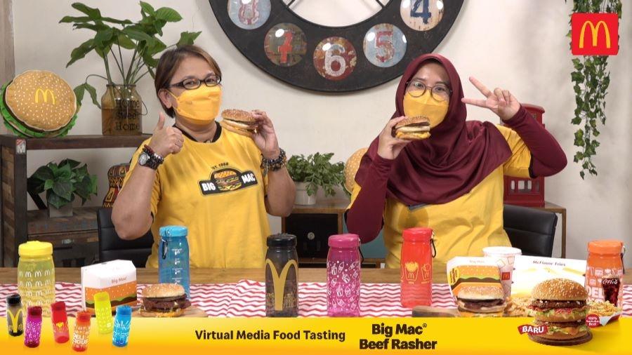McDonald's Luncurkan Menu Big Mac Beef Rasher McFlavor Set