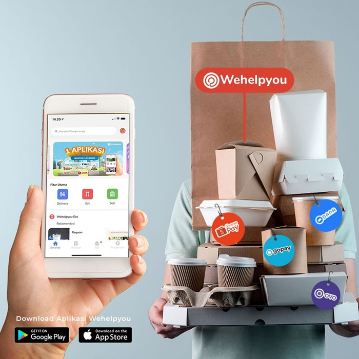 Bantu UMKM Pulihkan Ekonomi, Wehelpyou Hadirkan Platform Wehelpyou Eat & Sell