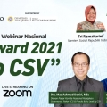 Top CSV Award 2021 Dukung Program Kementerian Sosial