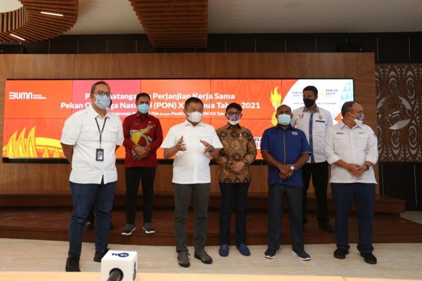 Join di PON XX Papua 2021, Telkom Siap Sukseskan Acara