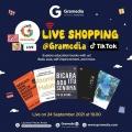 Kampanye Live Shopping Besar-besaran Gramedia Kini Hadir di Tiktok!