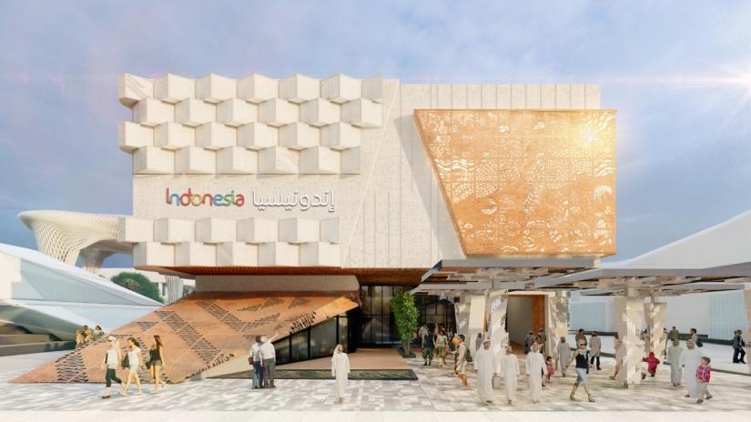Hadir di Expo 2020 Dubai, Paviliun Indonesia Tampilkan Kontribusinya di Berbagai Bidang
