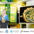 Gagas Metode Melukis Untuk Tuna Netra, Magister Manajemen Fakultas Ekonomi Bisnis Universitas Airlangga Sabet TOP CSV Award 2021