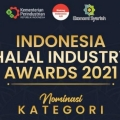 Kemenperin Ajak Tokoh Industri Halal lewat Indonesia Halal Industry Awards 2021