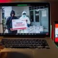 Telkomsel Gandeng Rumah Zakat Salurkan Bantuan APD ke Nakes & Pemulasaran Jenazah