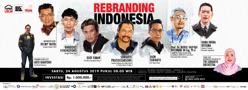 Rebranding Indonesia 2019