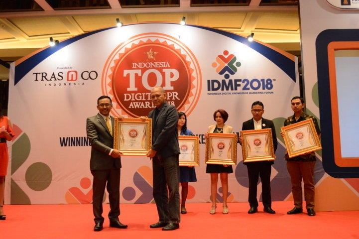 Citilink raih Indonesia Top Digital Public Relation Award