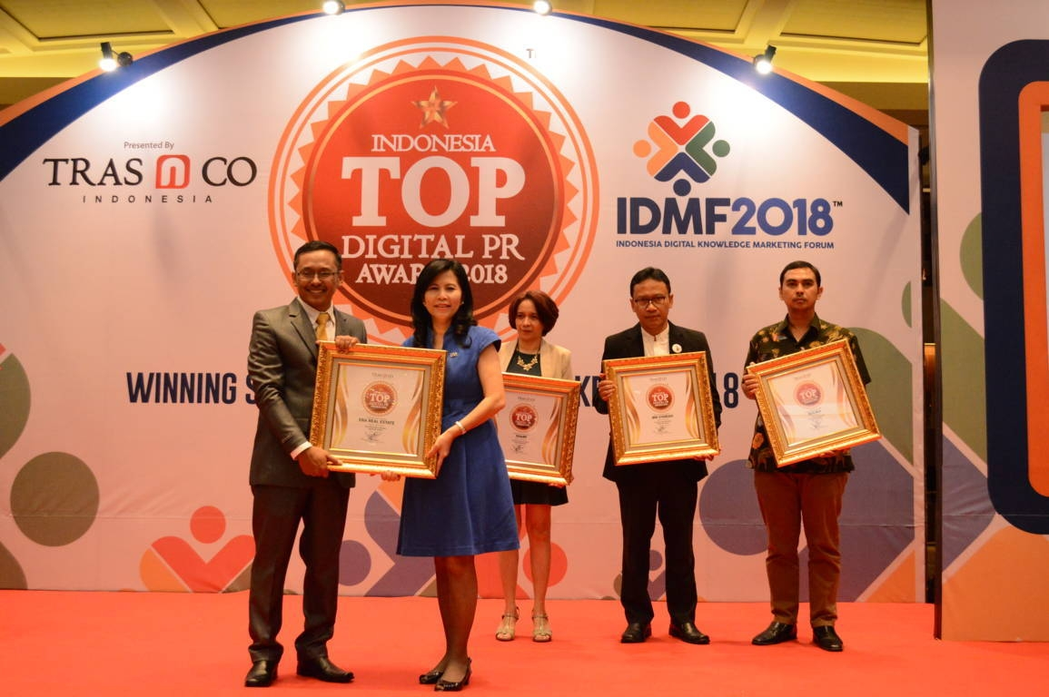 Era Real Estate raih Indonesia Top Digital Public Relation