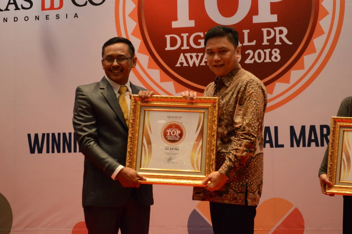GS Astra raih Indonesia Top DIgital Public Relation