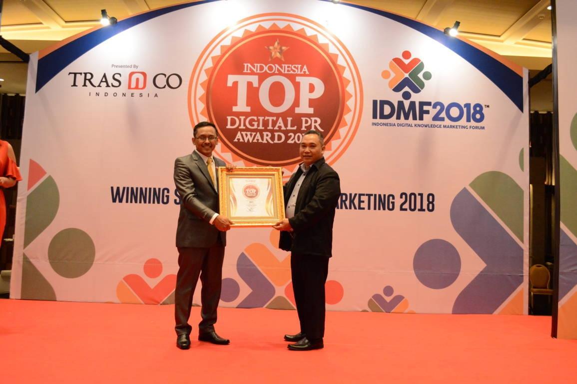 KFC raih Indonesia Top Digital Public Relation