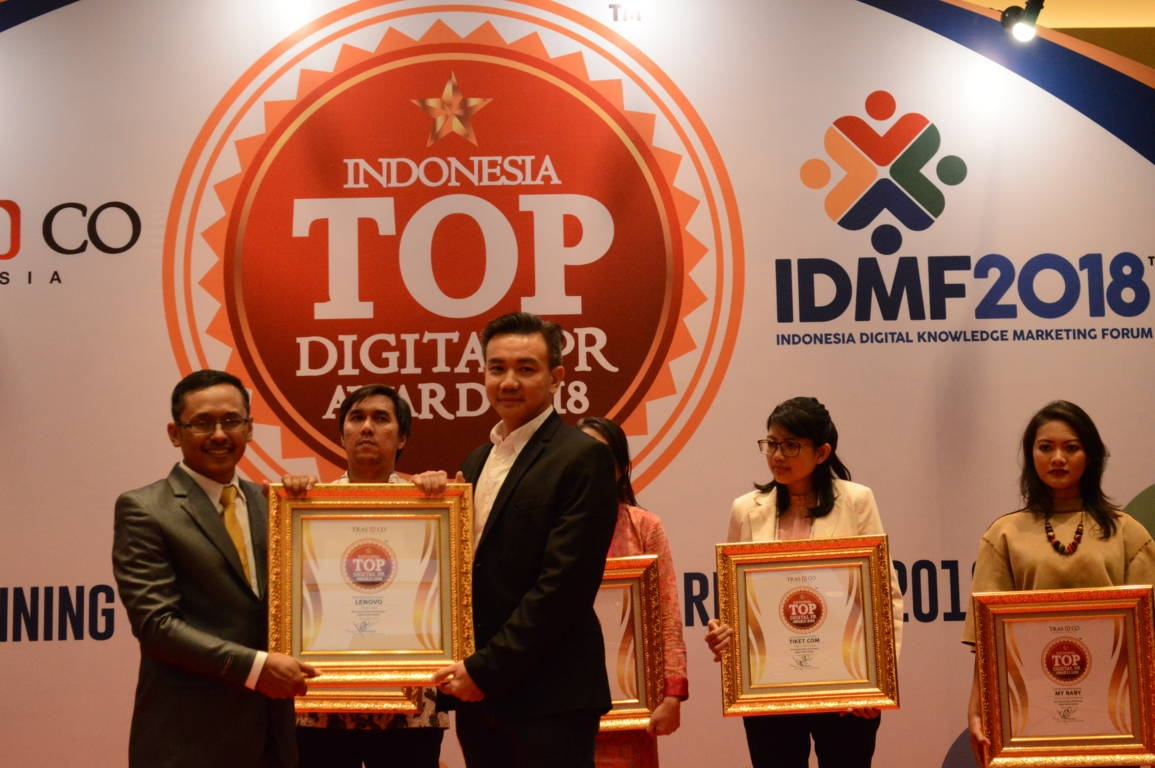 Lenovo raih Indonesia Top Digital Public Relation