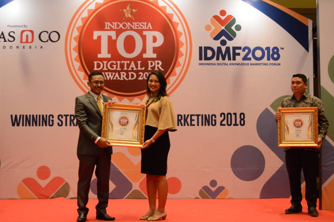 My Baby raih Indonesia Top Digital Public Relation