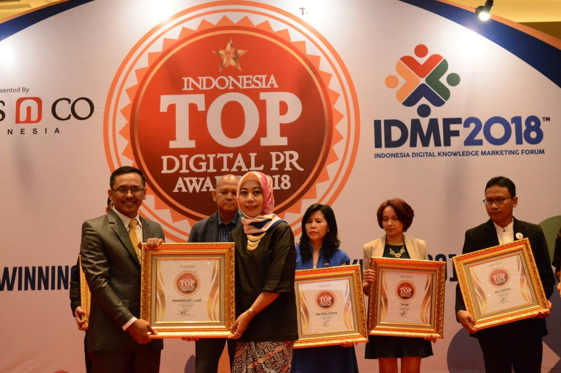 Paramount Land raih Indonesia Top Digital Public Relation