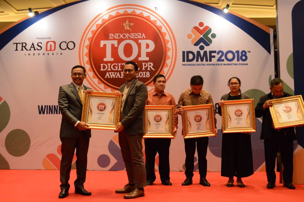 Pegadaian raih Indonesia Top Digital Public Relation