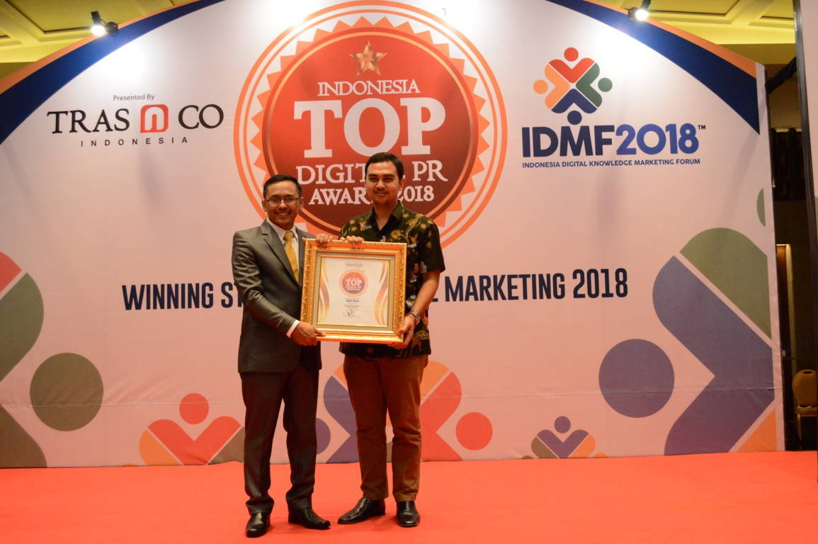 Rucika raih Indonesia Top Digital Public Relation