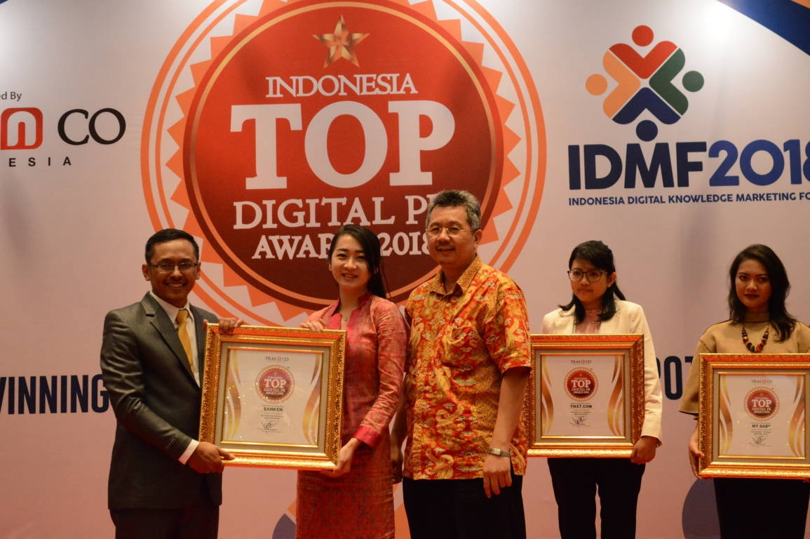 Sanken raih Indonesia Top Digital Public Relation