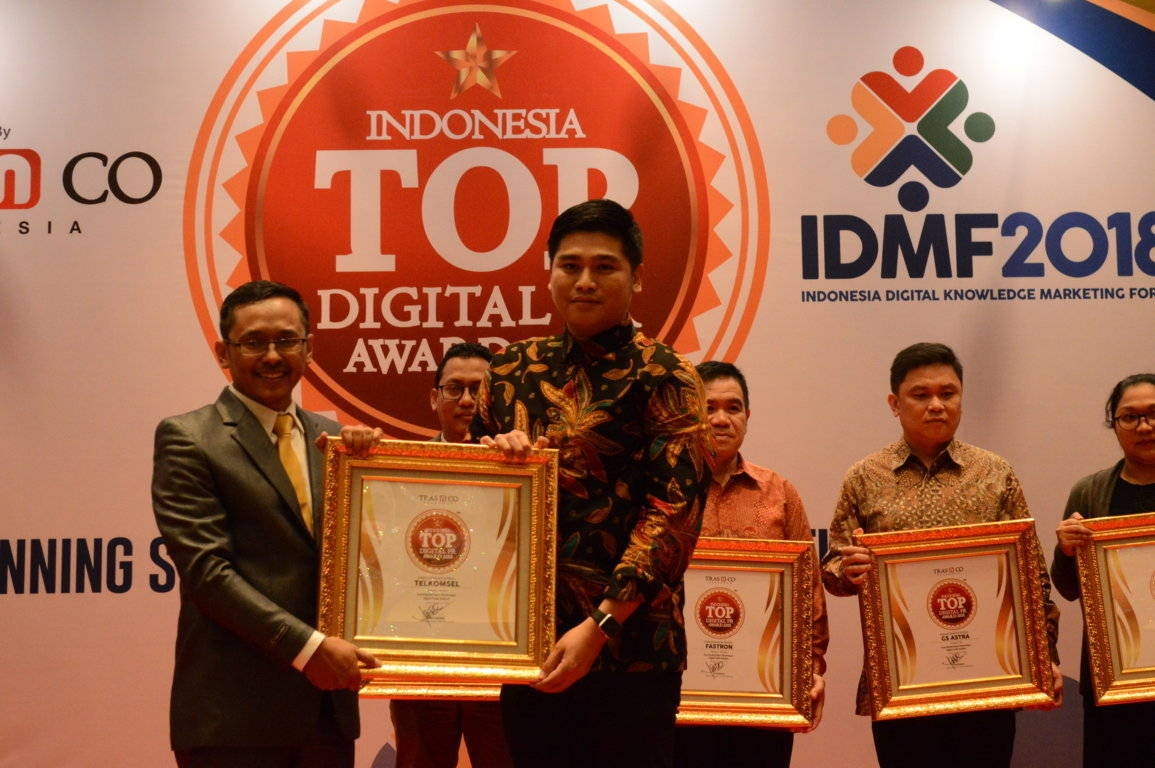 Telkomsel raih Indonesia Top Digital Public Relation