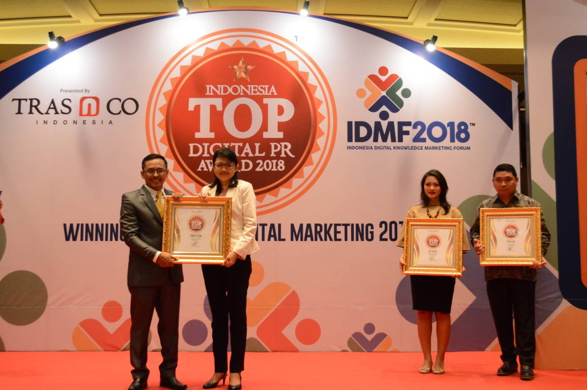 Tiket Dotcom raih Indonesia Top Digital Public Relation