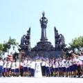 Di Sebak Sembung, Menpar Terima Api Asian Games 2018