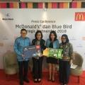 Kerjasama McDonald's Indonesia dan Blue Bird