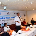 Pastikan Palapa Ring Tengah Selesai 2018, Menkominfo Kunjungi Gelar Kabel Laut di Perairan Tateli, Minahasa