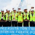 Dukung Ketahanan Pangan, Menteri Rini Resmikan Pabrik Pupuk di Palembang