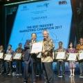 PT PP (Persero) Raih The Best Industry Marketing Champion 2017 untuk sektor Construction